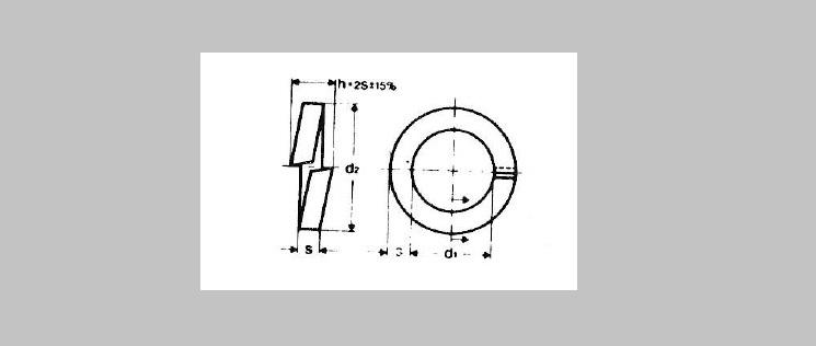 Split Lock Washers [DIN 7980]