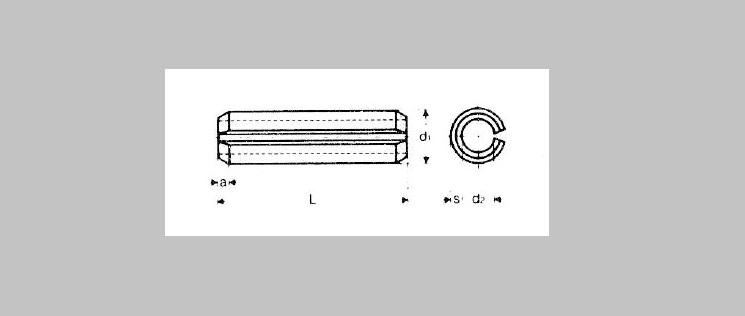 Split Roll Pins [DIN 1481]