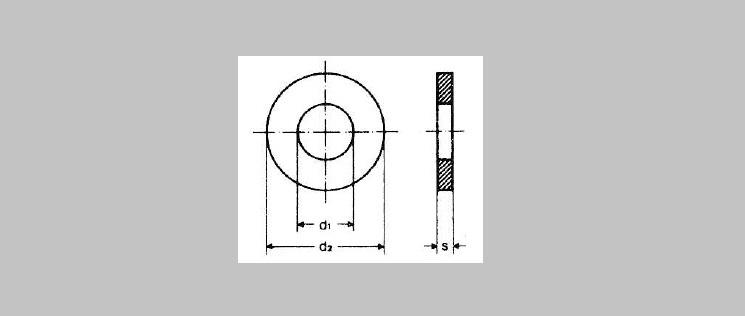 Standard O.D. Flat Washers [DIN 125]