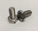 Slotted Hex Cap Screws [DIN 933S]